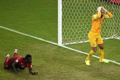 Португалия спаслась от поражения в матче с США за десять секунд до конца игры