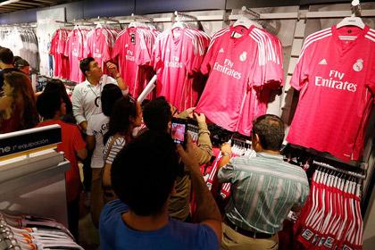 «Реал» продал более 100 тысяч розовых футболок за сутки