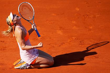 Шарапова во второй раз в карьере выиграла «Ролан Гаррос»
