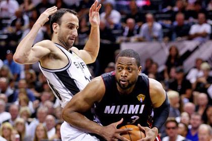 НБА оштрафовала защитника «Майами» на пять тысяч долларов за симуляцию