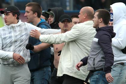 Ударившего футболиста «Динамо» болельщика отпустили на свободу
