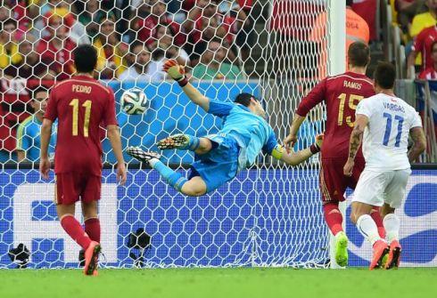 Чили и Голландия сбросили Испанию с трона