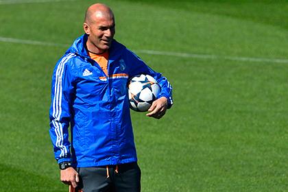 Зидану предложили возглавить вторую команду «Реала»