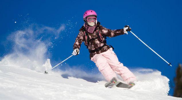 Как научиться кататься на лыжах
