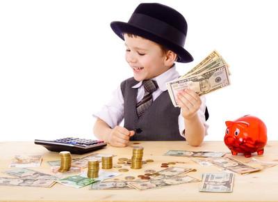 Финансовое воспитание ребенка