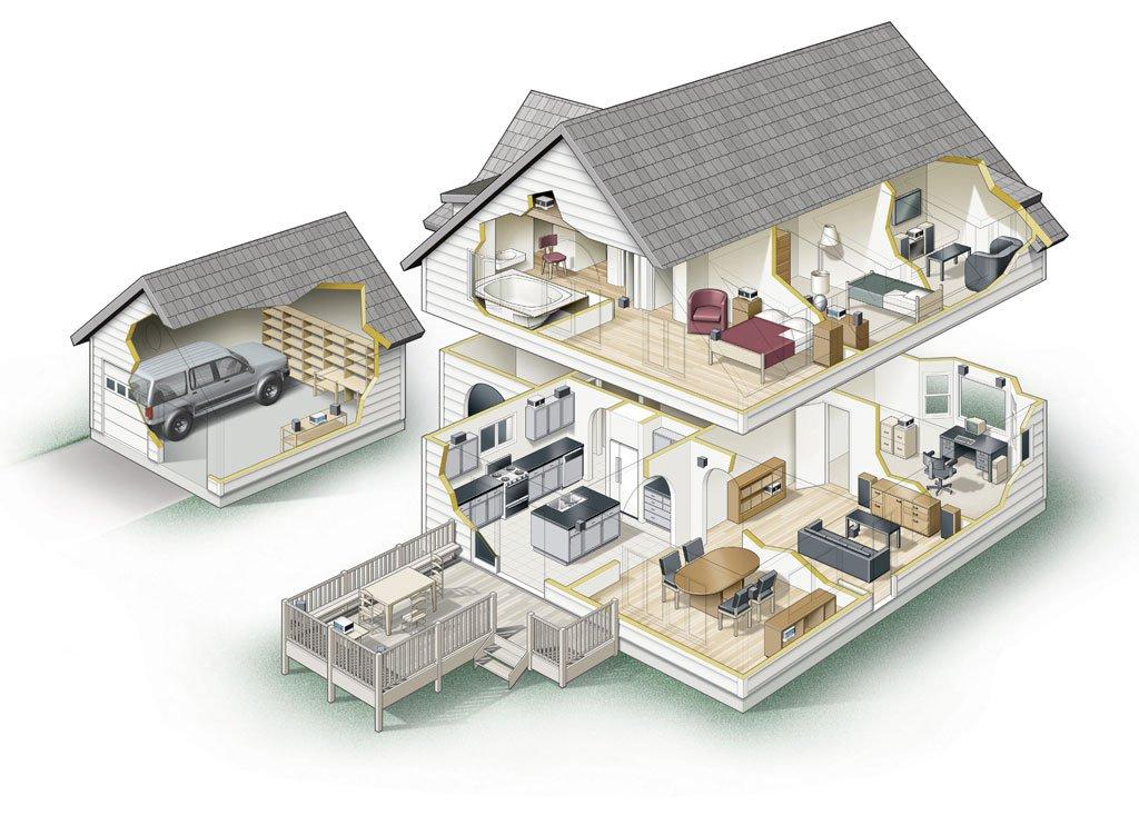Лепнина – изюминка вашего дома