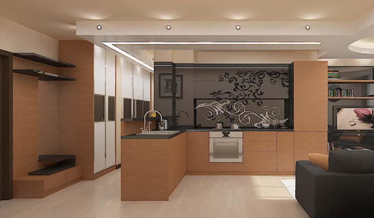Дизайн своими руками не большой кухни