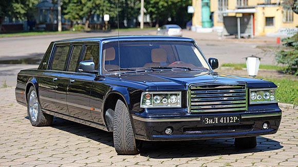 Президентский лимузин ЗИЛ