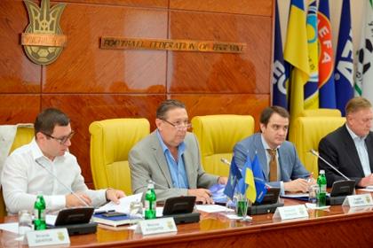 Федерация футбола Украины отложила решение по формату чемпионата страны