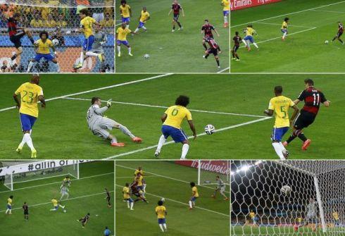 7:1. Германия уничтожила Бразилию