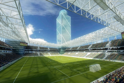 На новом стадионе ЦСКА установят прозрачную крышу