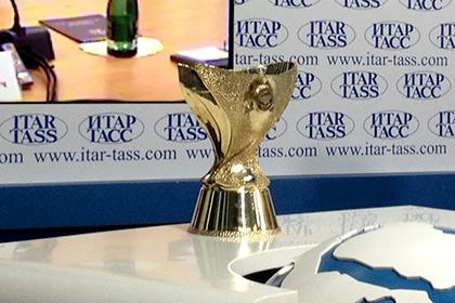 Обладатель Кубка России получит новый 13-килограммовый трофей