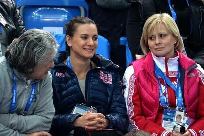 Елена Исинбаева родила дочку