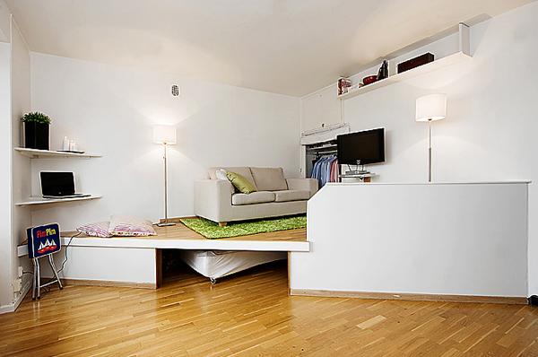 Обустройство маленькой квартиры