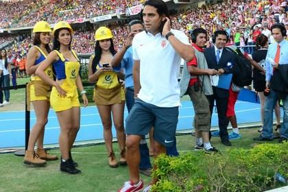 Фалькао вернулся на поле спустя восемь месяцев