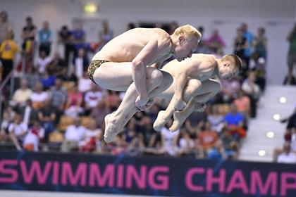 Россияне выиграли золото ЧЕ в синхронных прыжках в воду
