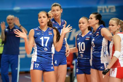 Российские волейболистки лишились шансов на победу в Гран-при