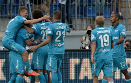 «Зенит» продлил победную серию в РФПЛ до пяти матчей