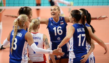 Российские волейболистки стали бронзовыми призерами Гран-при