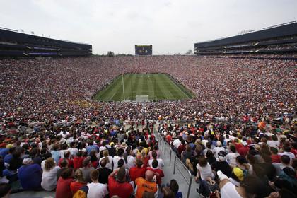 Матч «Манчестер Юнайтед» и «Реала» в США собрал более 100 тысяч зрителей