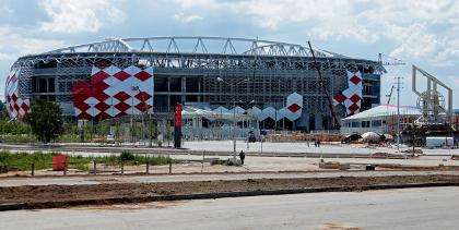 Стадион и станция метро «Спартака» откроются в конце августа