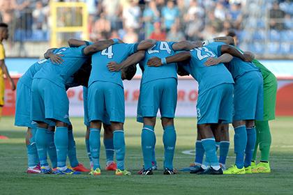 «Зенит» встретится с бельгийским клубом в Лиге чемпионов