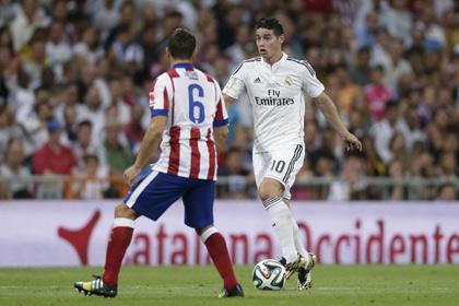 «Атлетико» свел к ничьей первый матч Суперкубка Испании против «Реала»