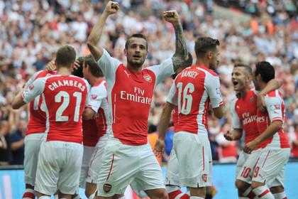 «Арсенал» разгромил «Манчестер Сити» и завоевал Суперкубок Англии
