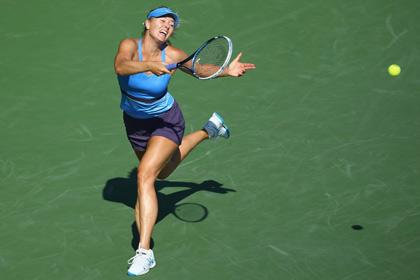 Шарапова вышла в четвертьфинал турнира в США