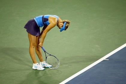 Шарапова выбыла из теннисного турнира в Цинциннати