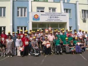 Фестиваль паралимпийских видов спорта прошел в Десногорске