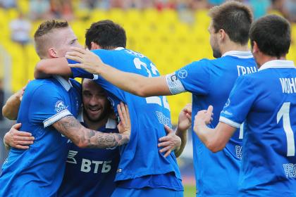 «Динамо» одержало победу над «Арсеналом»