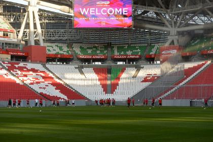 «Рубин» сыграл вничью с «Локомотивом» в первом матче на «Казань-Арене»