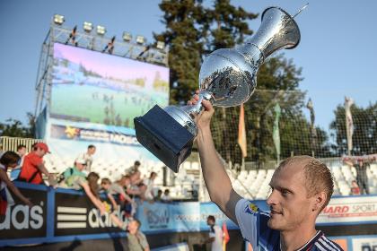 Сборная России победила в Суперфинале Евролиги по пляжному футболу