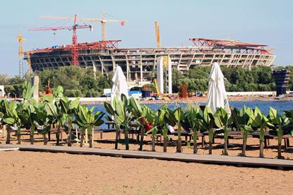 Система вентиляции на новом стадионе «Зенита» защитит зрителей от дыма файеров