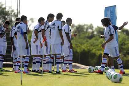 Футбольная сборная Парагвая отказалась ехать в Киев