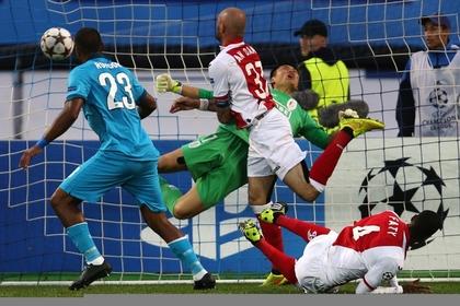 «Зенит» разгромил «Стандард» и пробился в групповой турнир Лиги чемпионов