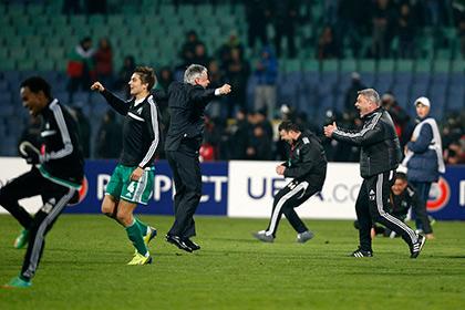 Болгарский клуб вышел в Лигу чемпионов с полевым игроком в воротах