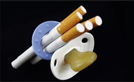 О вреде курения во время беременности