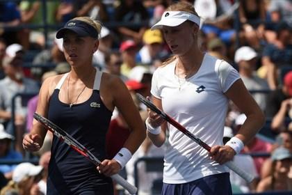 Российские теннисистки обыграли сестер Уильямс на Открытом чемпионате США