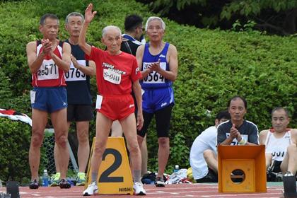 Усэйну Болту бросил вызов 103-летний японец