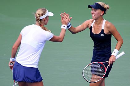 Во второй раз в истории в финале US Open сыграет российская пара