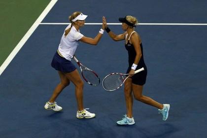 Российская женская пара впервые победила на US Open