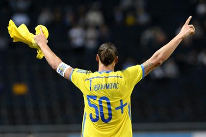 Ибрагимович пообещал обменяться футболками с Дзюбой