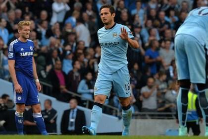 Лэмпард спас «Манчестер Сити» от поражения в матче с «Челси»