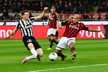 Матч чемпионата Италии по футболу побил рекорд по доходам