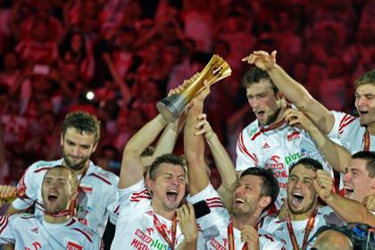 Волейболисты сборной Польши выиграли домашний чемпионат мира