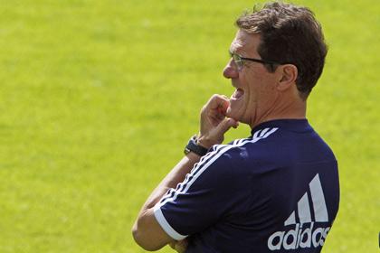 Капелло назвал расширенный состав сборной на матчи отбора Евро-2016