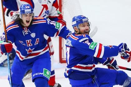 СКА обновил рекорд Континентальной хоккейной лиги