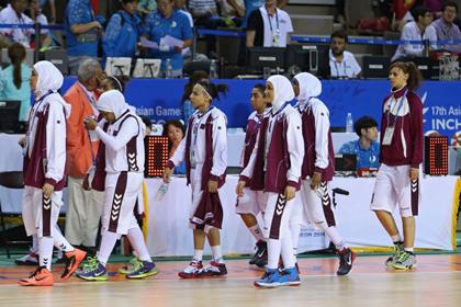 Катарские баскетболистки покинули Азиатские игры из-за запрета играть в хиджабах